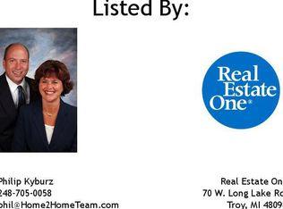 1234 Harvard Dr , Rochester Hills MI