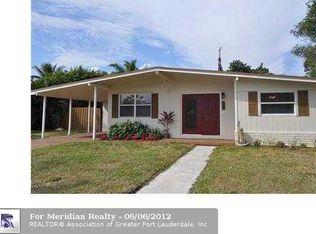 1591 NE 43rd Ct , Pompano Beach FL