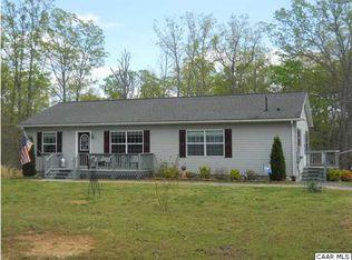 674 Red Hill Rd , Gordonsville VA