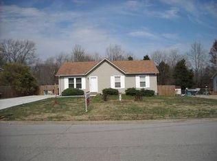 1572 Mary Beth Ln , Clarksville TN