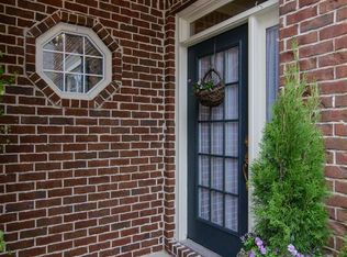 Traditional Front Door With Exterior Brick Floors