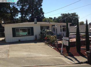 335 Shirley Vista St , El Sobrante CA