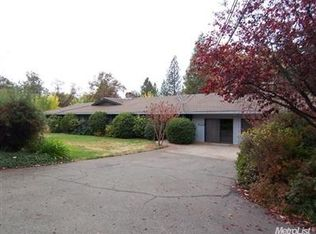 2589 COLD SPRINGS RD , PLACERVILLE CA