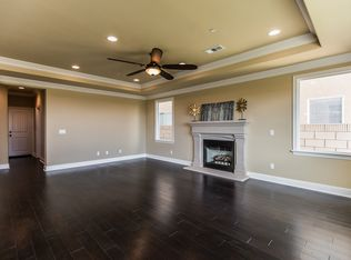 Traditional Kitchen With Glass Panel Amp Crown Molding In