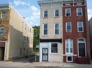 1122 W Franklin St , Baltimore MD