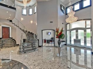 Art deco living room with simple marble floors stone for 1161 highland terrace