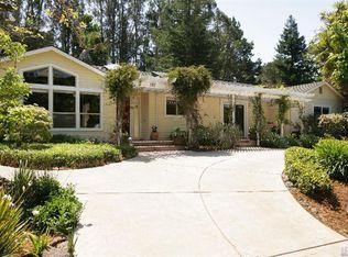 297 Ricardo Rd , Mill Valley CA