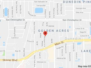 Map Of Dunedin Florida.1219 Michigan Dr N Dunedin Fl 34698 Zillow