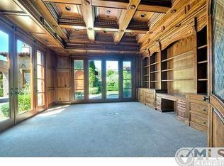 Traditional Home Office With French Doors Amp Box Ceiling In