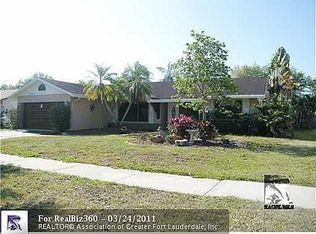 11938 SW 59th Ct , Cooper City FL
