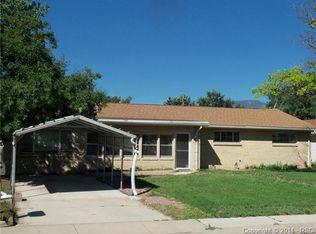 534 Rosemont Dr , Colorado Springs CO