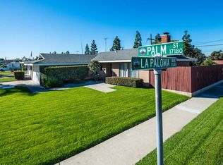 17183 Palm St , Fountain Valley CA