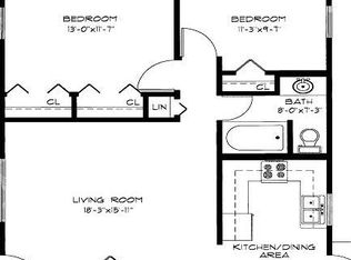 APT: 2 Bedroom Floor Plan B - Northpointe in Madison, WI | Zillow