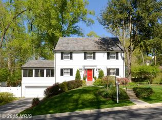 7601 Wyndale Rd , Chevy Chase MD