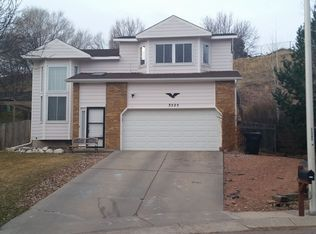 3525 Point of the Rocks Dr , Colorado Springs CO