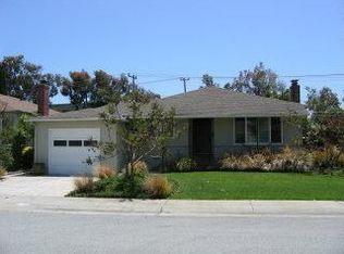 1006 Haddon Dr , San Mateo CA