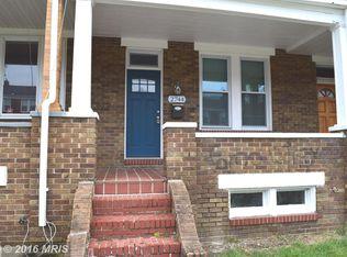 2744 Pelham Ave , Baltimore MD