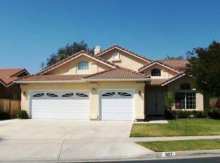 857 Buckeye Cir , Corona CA