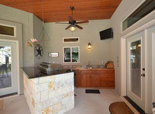 Country Dining Room With Slate Tile Floors Amp Chandelier In