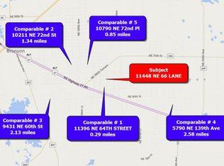 Williston Florida Map.11448 Ne 66th St Williston Fl 32696 Zillow