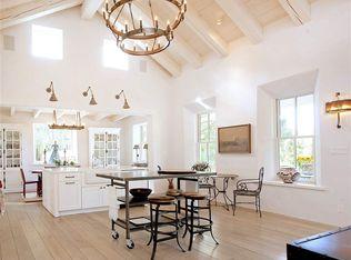 Cottage Kitchen With Hardwood Floors Amp L Shaped In Santa