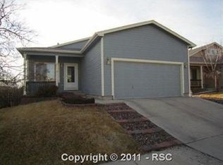 6836 Lost Springs Dr , Colorado Springs CO