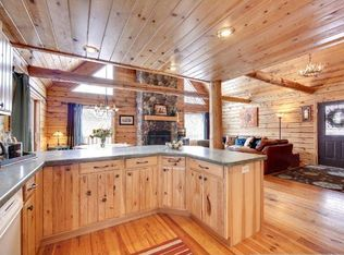 Rustic Kitchen With Flush Amp Columns In Cannon Falls Mn