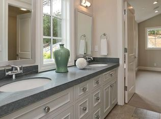 Traditional Master Bathroom With Inset Cabinets