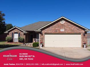 8109 NW 83rd St , Oklahoma City OK