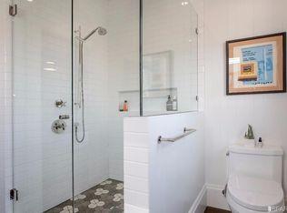 Contemporary Full Bathroom With Drop In Bathtub Amp High