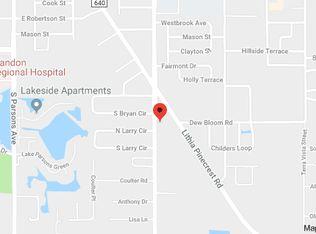 Map Of Brandon Florida.501 Bryan Rd Brandon Fl 33511 Zillow