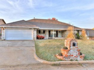 12429 Sussex Rd , Midwest City OK