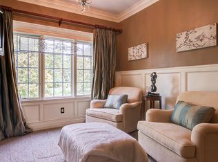Traditional Living Room With French Doors Amp Hardwood