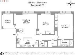 151 W 17th St Apt 2G, New York NY