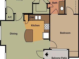 Captivating APT: 2 Bedroom, 1 Bath + Den   Ten Oaks Apartments In Austin, TX | Zillow