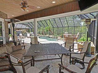 Rustic Swimming Pool With Exterior Stone Floors Amp Indoor