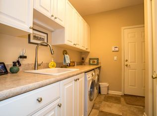 Traditional Laundry Room With Slate Tile Floors Amp Built In