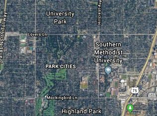 Park Cities Dallas Map.7322 Wentwood Dr Dallas Tx 75225 Zillow