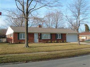 1117 Hollendale Dr , Dayton OH