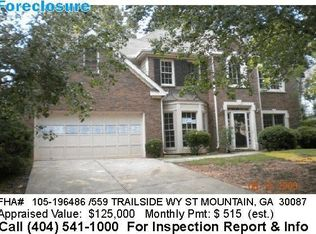 559 Trailside Way , Stone Mountain GA
