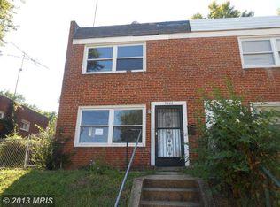 3029 Elizabeth Ave , Baltimore MD