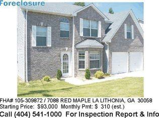 7088 Red Maple Ln , Lithonia GA