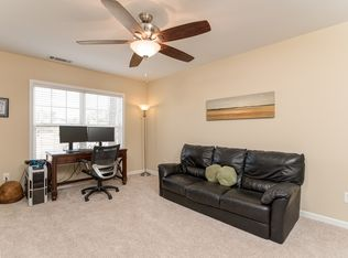 Home Office With High Ceiling Amp Crown Molding In