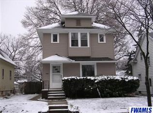 933 Cottage Ave , Fort Wayne IN