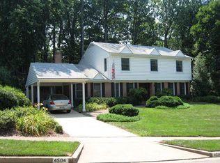 4504 Twinbrook Rd , Fairfax VA
