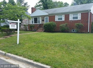 2007 Lakewood St , Suitland MD