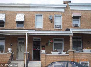 2702 E Biddle St , Baltimore MD
