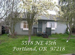 5518 NE 45th Ave , Portland OR