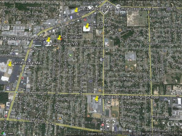 Map Of Fort Walton Beach Florida.Fort Walton Beach Fl Land Lots For Sale 16 Listings Zillow