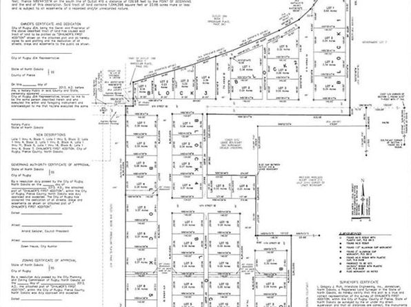 Rugby Nd Land Lots For Sale 93 Listings Zillow